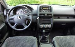 2002 Honda CR-V interior