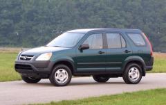 2002 Honda CR-V exterior