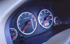 2004 Honda CR-V interior