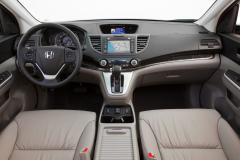 2014 Honda CR-V EX-L 2WD 5-Speed AT with Navigation interior