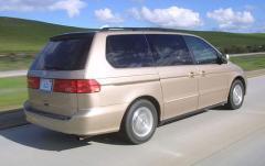 2001 Honda Odyssey exterior