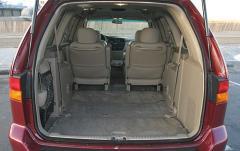 2004 Honda Odyssey interior