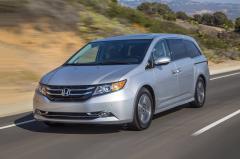 2017 Honda Odyssey exterior