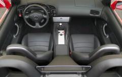 2005 Honda S2000 interior