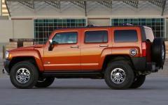 2008 Hummer H3 exterior