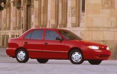 1996 Hyundai Accent exterior