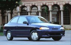 1997 Hyundai Accent exterior
