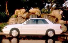 1993 Hyundai Elantra exterior