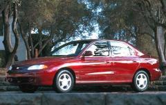1997 Hyundai Elantra exterior