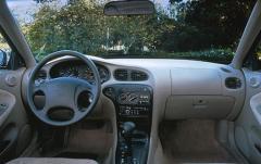 1998 Hyundai Elantra interior
