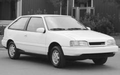 1990 Hyundai Excel exterior