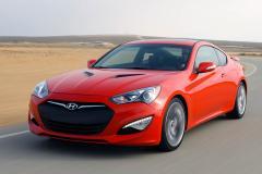 2013 Hyundai Genesis Coupe exterior