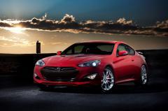 2016 Hyundai Genesis Coupe exterior