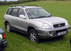 2001 Hyundai Santa Fe Photo 2