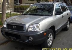 2001 Hyundai Santa Fe Photo 3