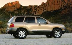 2002 Hyundai Santa Fe exterior