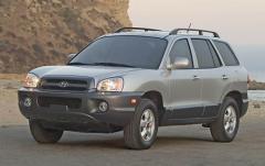 2005 Hyundai Santa Fe exterior