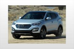 2013 Hyundai Santa Fe exterior