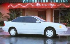 1991 Hyundai Scoupe exterior