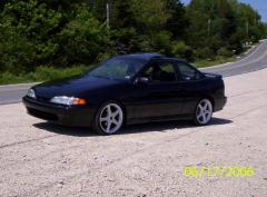 1993 Hyundai Scoupe Photo 1