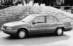 1991 Hyundai Sonata exterior