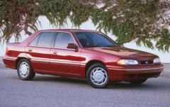 1992 Hyundai Sonata exterior
