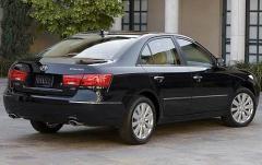 2009 Hyundai Sonata exterior