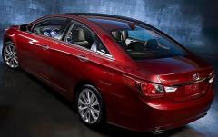 2011 Hyundai Sonata exterior