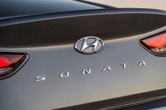 2018 Hyundai Sonata exterior