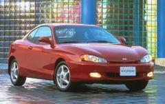 1997 Hyundai Tiburon exterior