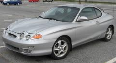 2001 Hyundai Tiburon Photo 2