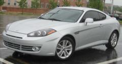 2008 Hyundai Tiburon Photo 1