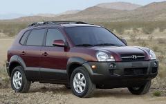 2008 Hyundai Tucson exterior
