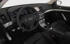 2012 Infiniti G Coupe interior