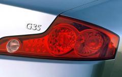 2003 Infiniti G35 exterior