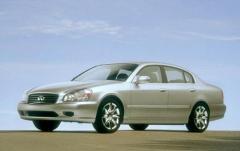2002 Infiniti Q45 exterior