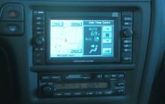 2001 Infiniti QX4 interior