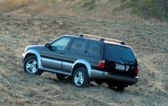 2001 Infiniti QX4 exterior