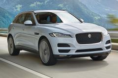 2017 Jaguar F-Pace exterior