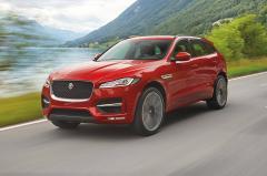 2018 Jaguar F-Pace exterior
