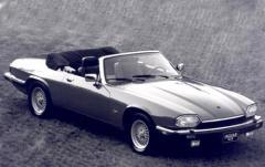 1996 Jaguar XJS exterior