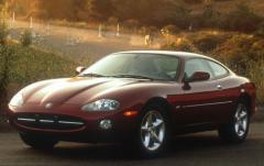 2001 Jaguar XK-Series exterior