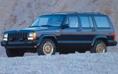 1990 Jeep Cherokee exterior