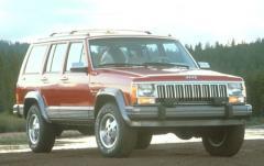 1992 Jeep Cherokee exterior