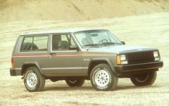 1993 Jeep Cherokee exterior