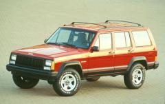 1996 Jeep Cherokee exterior