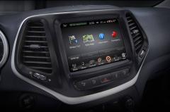 2018 Jeep Cherokee interior