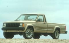 1990 Jeep Comanche exterior