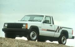 1992 Jeep Comanche exterior