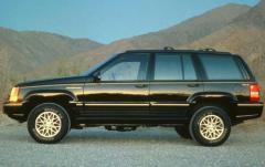 1993 Jeep Grand Cherokee exterior